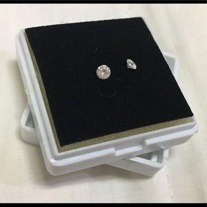 REAL diamond solitaire set 0.3 CTW